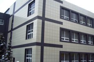 керамогранит здание