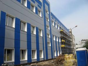 композитные панели здание