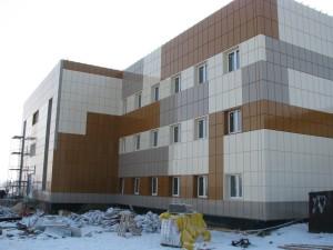 металлокассеты здание